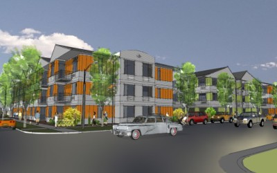 St. Charles Town Company's Zephyr Line Apartments Underway